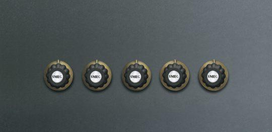 Набор ручек для газовых варочных поверхностей 5MPC700AO