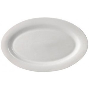 Большая овальная тарелка Extra Fine Porcelain