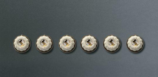Набор ручек для газовых варочных поверхностей MP700POL