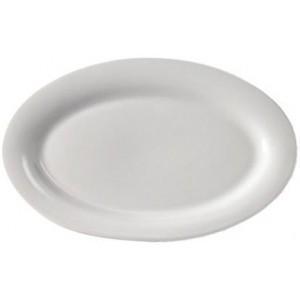 Маленькая овальная тарелка Extra Fine Porcelain