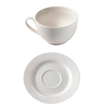 Набор (чашка и тарелка) Extra Fine Porcelain
