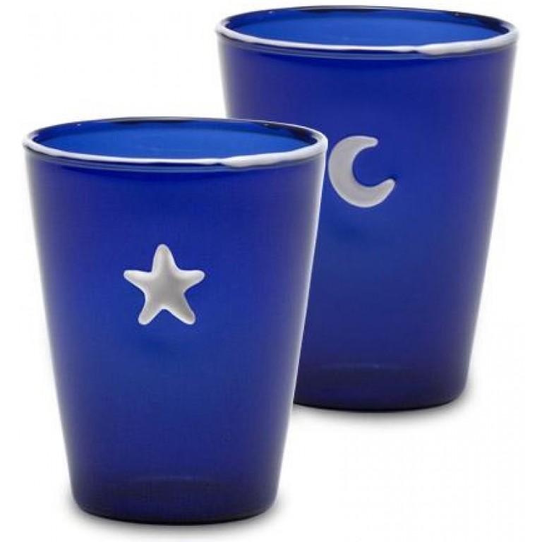Набор стаканов Symbols синие