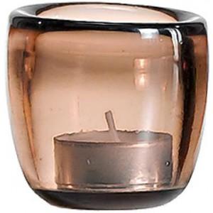 Подсвечник Ciompo Tea Light коричневый
