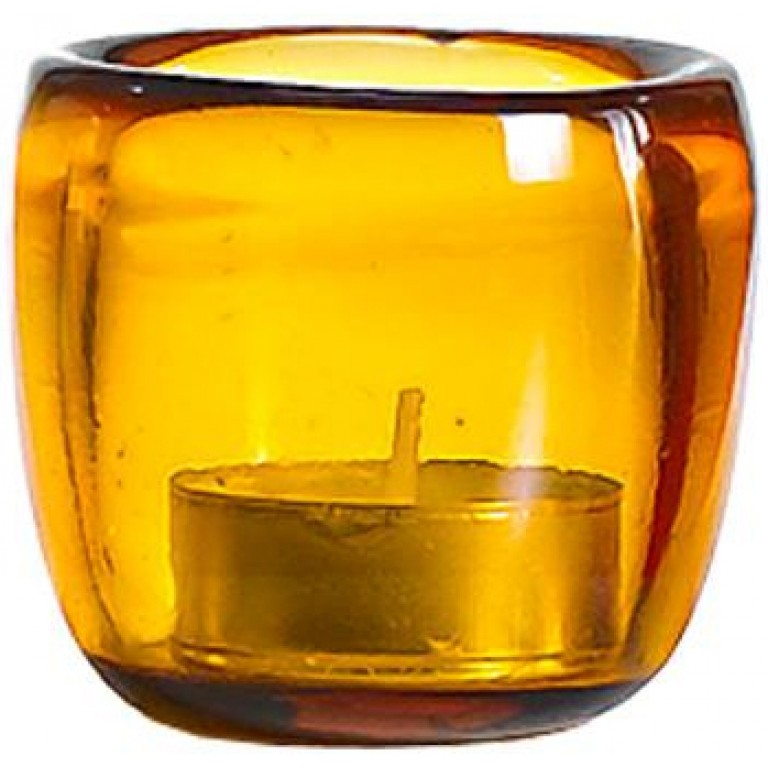 Подсвечник Ciompo Tea Light оранжевый