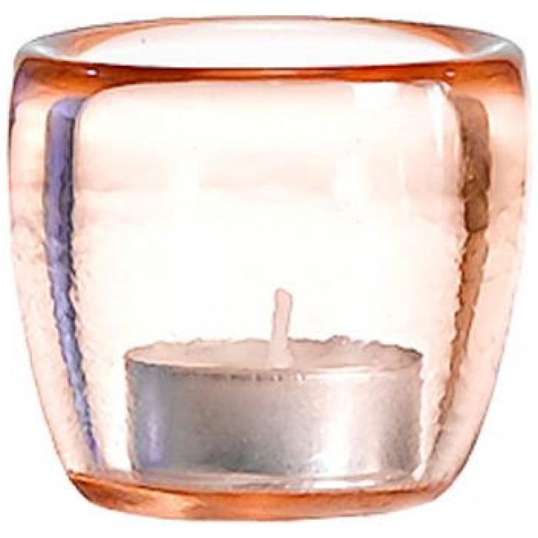 Подсвечник Ciompo Tea Light розовый