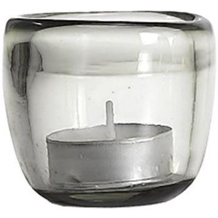 Подсвечник Ciompo Tea Light серый