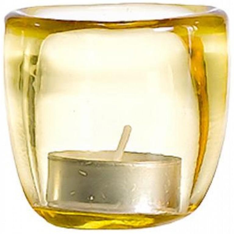 Подсвечник Ciompo Tea Light янтарный
