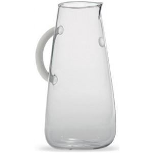 Прозрачный графин Uniche белый