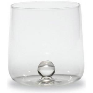 Прозрачный стакан Bilia прозрачный мрамор