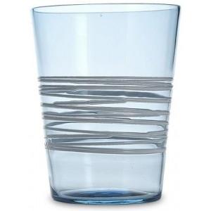 Прозрачный стакан Filante аквамарин