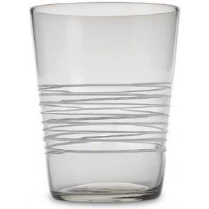 Прозрачный стакан Filante серый