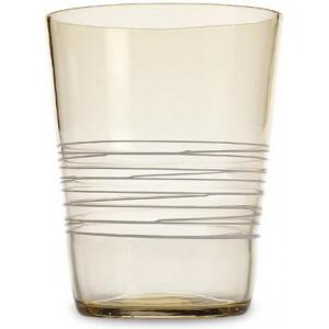 Прозрачный стакан Filante янтарный