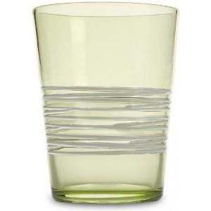 Прозрачный стакан Filante зеленое яблоко