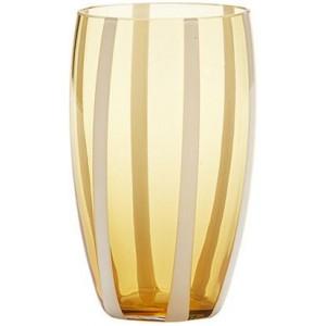 Стакан Gessato Beverage янтарный