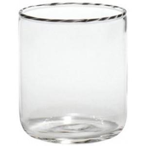 Винный стакан Intrecci черный белый
