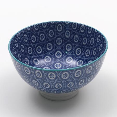Салатник Tue Маленький синяя керамика