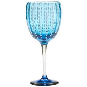 Бокал винный Perle аквамарин