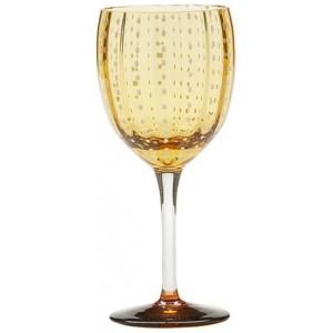 Бокал винный Perle янтарный