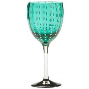 Бокал винный Perle зеленый