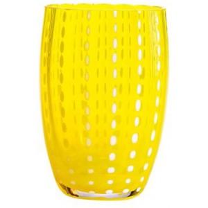 Стакан средний Perle жёлтый