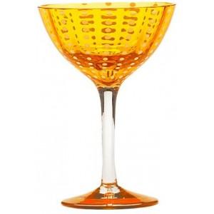 Бокал коктейльный Perle оранжевый