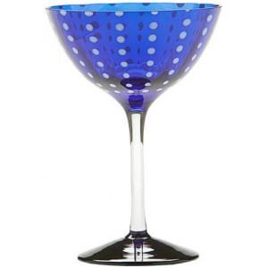 Бокал коктейльный Perle синий