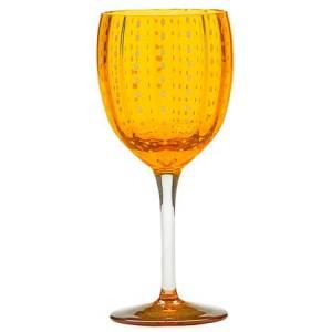 Бокал винный Perle оранжевый