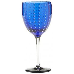 Бокал винный Perle синий