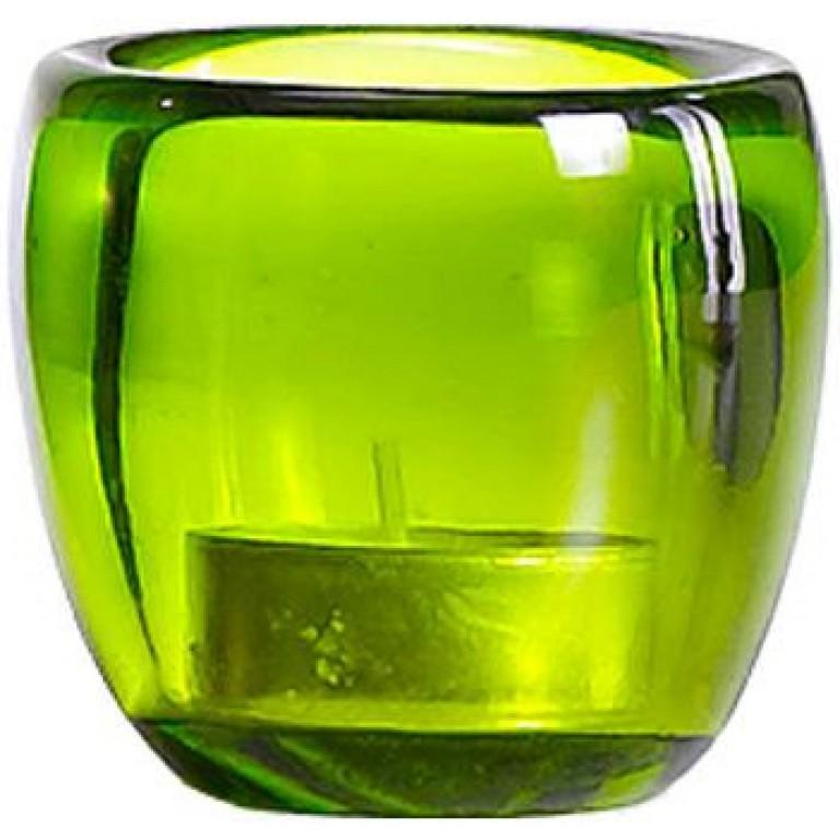 Подсвечник Ciompo Tea Light светло зеленый