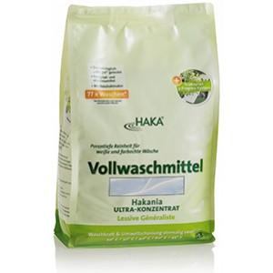 Универсальный стиральный порошок (Vollwaschmittel Hakania), 3 кг х 77 стирок