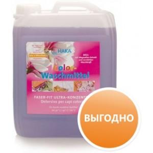Средство для стирки цветного белья (Colorwaschmittel Faser-Fit), с системой сохранения ткани Fiser-Fit, 5л. х 100 стирок