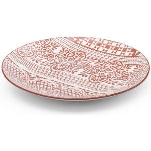Плоская тарелка Damasco