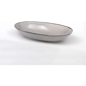 Глубокая овальная тарелка Juta