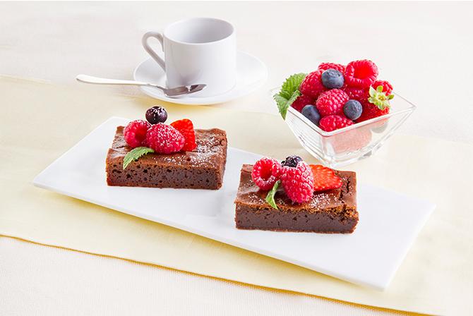 """""""Tenerina"""" sticky chocolate cake"""
