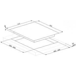 Газовая варочная панель PV164B2