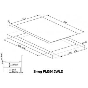 Комбинированная варочная панель PM3912WLD