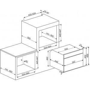 Компактный духовой шкаф SF4102MN