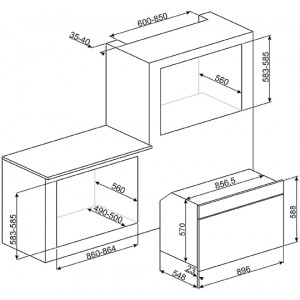 Компактный духовой шкаф SFR9390X