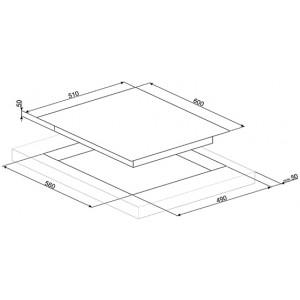 Индукционная варочная панель SIM662WLD