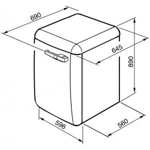 Отдельностоящая стиральная машина LBB14PK-2