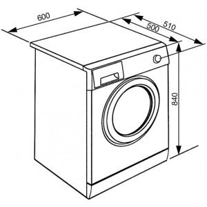 Отдельностоящая стиральная машина WHT712EIN