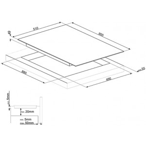 Индукционная варочная панель SI1F7955B