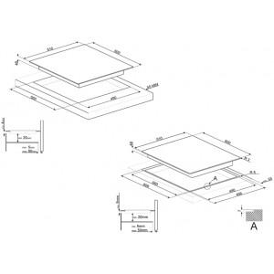 Индукционная варочная панель SI2M7643D
