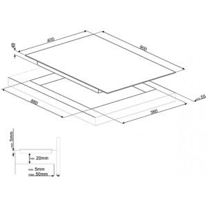 Индукционная варочная панель SIH7933B