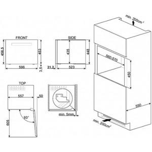 Холодильный шкаф для вина встраиваемый CVI618LWNR2
