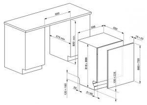 Встраиваемая посудомоечная машина STE521