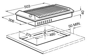 Электрический гриль SEGR531X