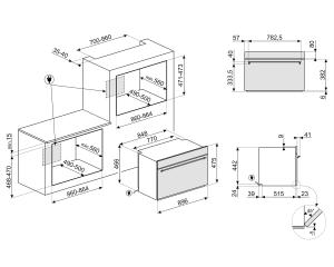 Компактный духовой шкаф SFR9300X