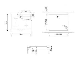 Индукционная варочная панель SI764BSM