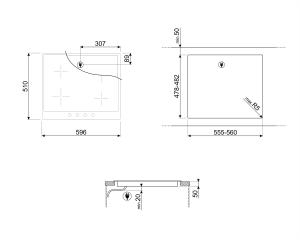 Индукционная варочная панель SI964BM